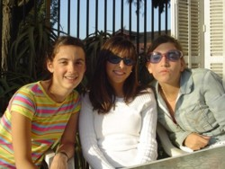 tres chicas pubertad