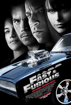 Fast & Furious póster