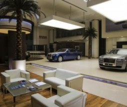 Rolls Royce Abu Dhabi Showroom